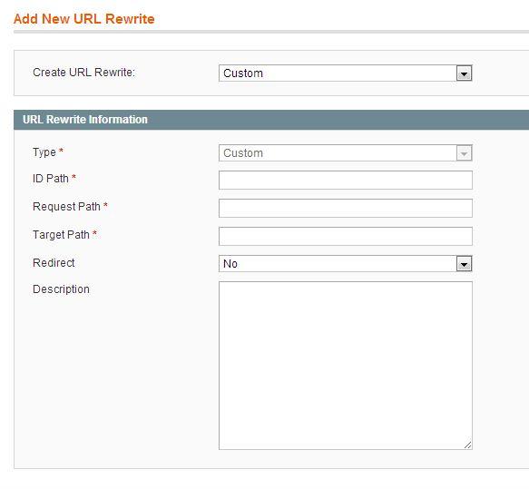 how to work url rewrite management in magento 1.9